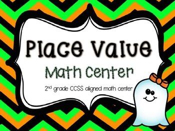 Place Value Math Center: A 2nd Gr CCSS Aligned Math Center