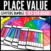 Place Value Math Center Game Bundle