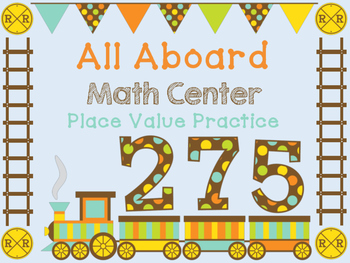 Place Value to 1000 Math 2nd Grade Task Cards Math Center