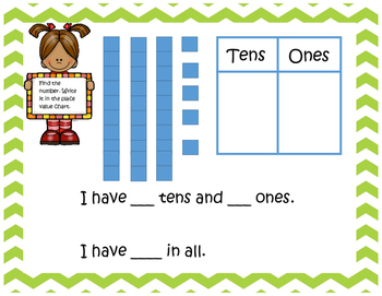 Print and Go Place Value Math Centers