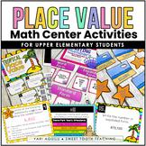 Place Value Math Centers- Hundreds, Thousands, Millions, Billions
