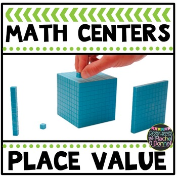 Place Value Math Centers Math Station