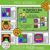 Place Value Math Coloring Sheets - Color by Code for St.Pa