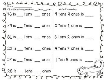 Place Value Math Games for K-3 Go Fish, Memory and Find your Match