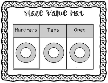 Place Value Math Center - Hundreds, Tens, and Ones