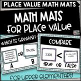 Place Value Math Mats for Upper Grades