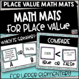 Place Value Math Mats for Upper Grades