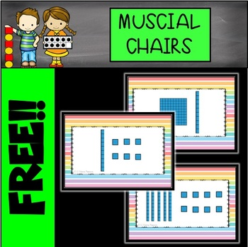 FREE Place Value Musical Chairs Game (Base Ten)