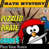 5th Grade Place Value Review: With Decimals,Comparing, Converting, Rounding
