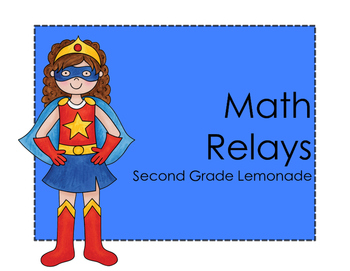 Place Value Math Relay Races