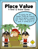 Place Value Math Review Activity for First & Second Grade