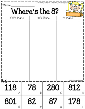 Place Value - Math Skill Builder