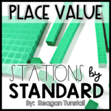 Place Value Math Stations First Grade