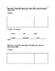 Place Value Math Test lessons 8-14