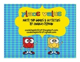 Place Value Math Tub Activities