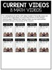 Place Value Math Video and Worksheet Bundle