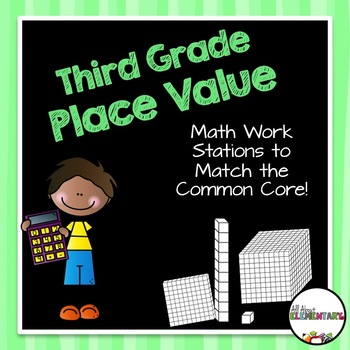 Place Value Work Stations {Rounding, Expanded Form, and Regrouping}