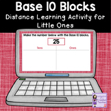 Place Value Math for Distance Learning | Base 10 Blocks |