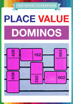 Place Value Math Domino Card Game