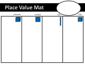 Place Value Mats.
