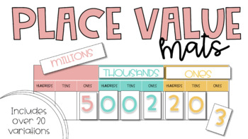 Place Value Mats
