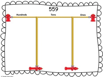 Place Value Mats (all numbers 500 - 999)