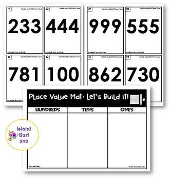 Place Value Mats Bundle