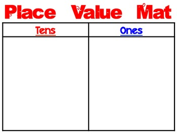 Place Value Mats (Color)