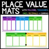 Place Value Mats *DECIMALS AND MILLIONS*