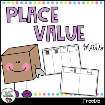 Place Value Mats {FREEBIE}
