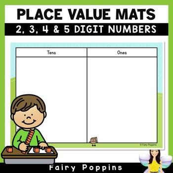 Place Value Mats Freebie
