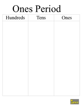 Place Value Mats-Ones, Thousands, Millions, Billions, Decimals FREEBIE