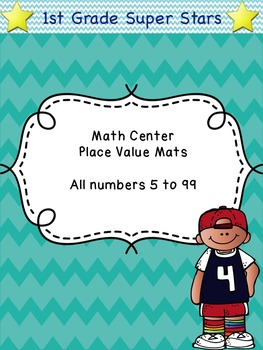 Place Value Mats (all numbers 5 - 99)