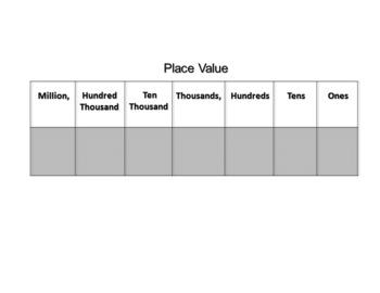 Math-Place Value Mats