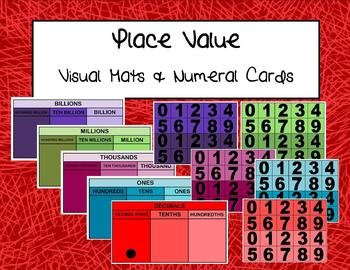 Place Value Mats and Numeral Cards