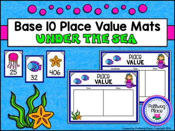 Place Value Mats for Base 10 Blocks: Under the Sea