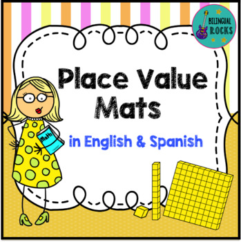 Place Value Mats in Spanish and English