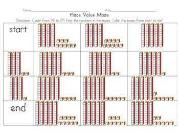 Place Value Maze