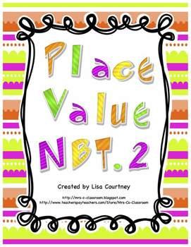 Place Value Mega Bundle - Four Detailed Common Core Units - 4th grade