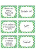 Place Value Memory Game - CCSS 5.NBT.1