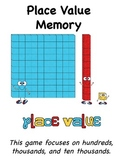 Place Value Memory - Hundreds & Thousands