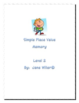 Place Value Memory version 2