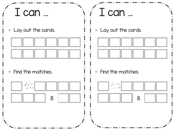 Place Value Memory - Math Work Station
