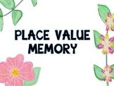 Place Value Memory billions-hundredths place