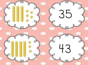 Place Value Memory (tens and ones)