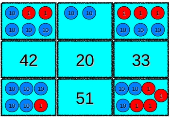 Place Value Memory with Place Value Discs