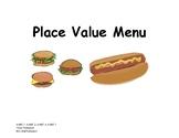Place Value Menu