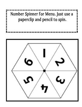 Place Value Menu: Choice Math Menu Activities