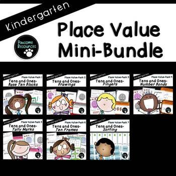Place Value Mini-Bundle (Kindergarten-K.NBT.1)