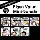 Kindergarten Place Value Bundle (Standards-Aligned)